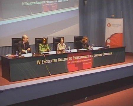 Quinta Mesa Redonda - IV Encontro Galego de Profesionais do dereito concursal